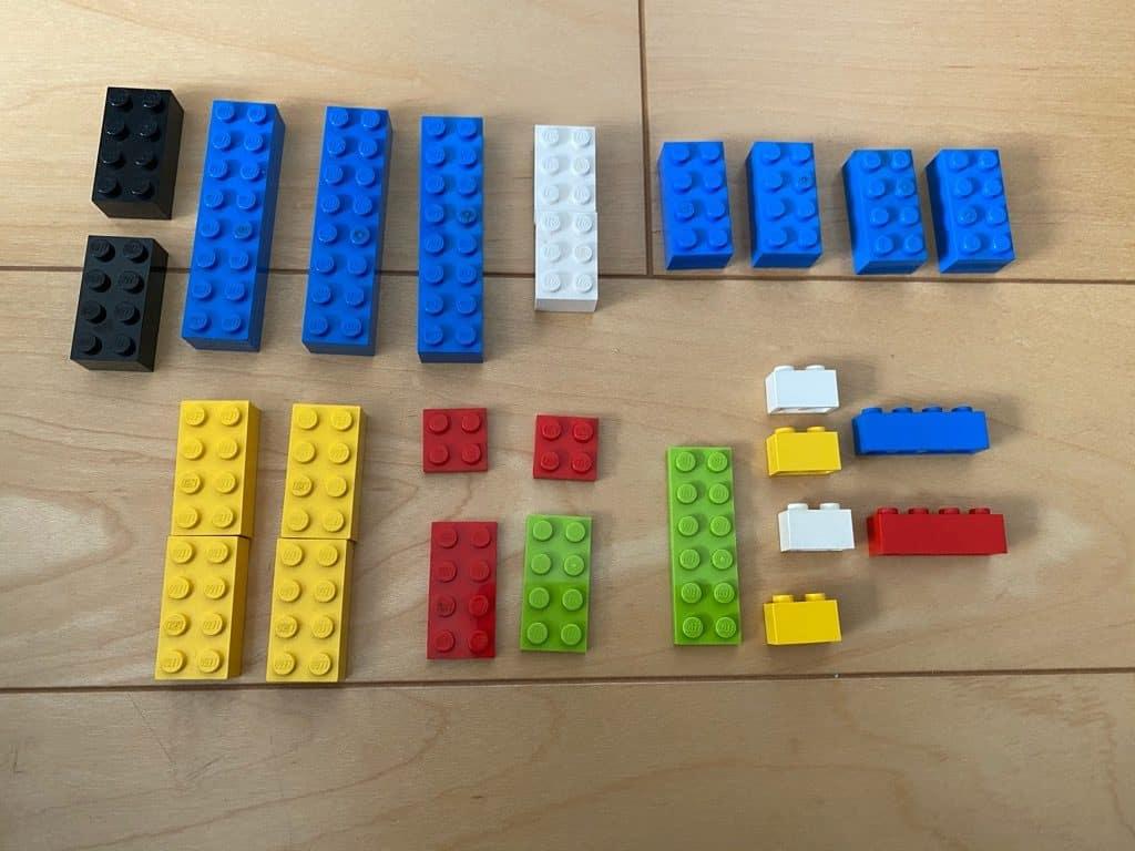 カラコロピタン シーソ&スロープ 手持ちレゴ
