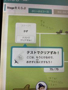 RISU算数テストクリア