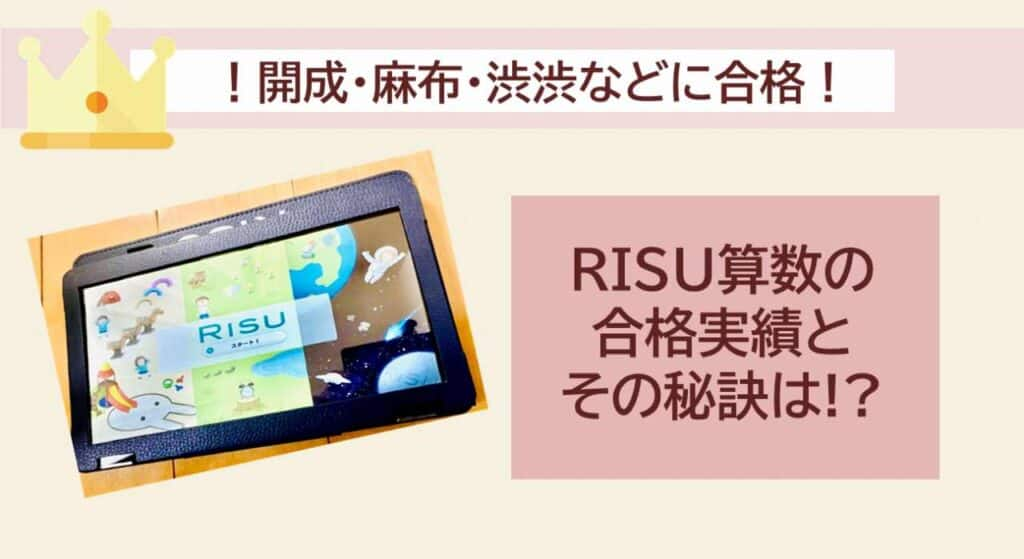 RISU算数_開成