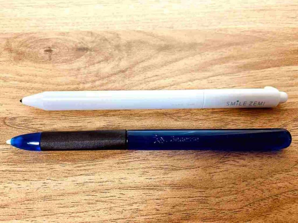 スマイルゼミとチャレンジタッチのタッチペンの違い