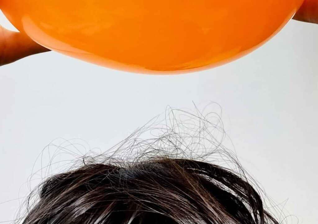 グルービーラボの風船の実験